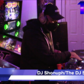 """DJ Shonuph on The DJ Sessions presents """"Attack the Block"""" at the Waterland Arcade 12/29/20"""