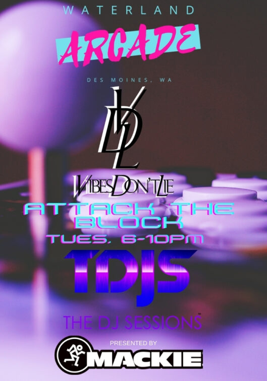 Attack the Block with Vibes Dont Lie at the Waterland Arcade presented by The DJ Sessions