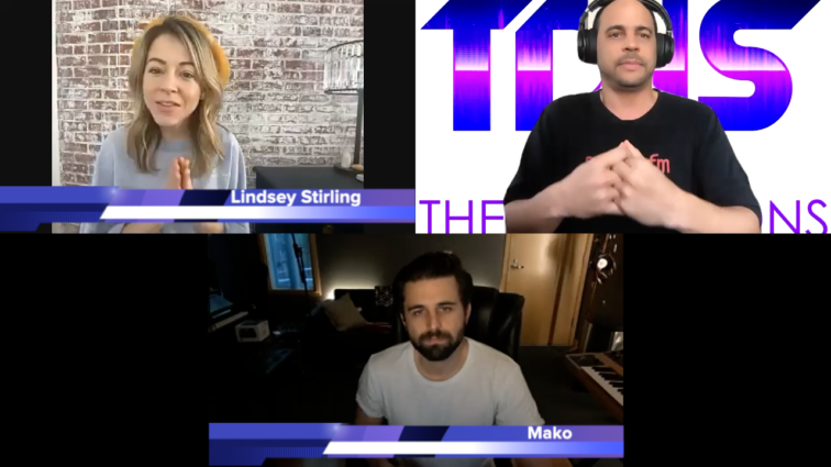 Lindsey Stirling and Mako on The DJ Sessions presents the Virtual Sessions 2/05/21