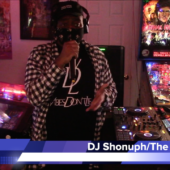 """DJ Shonuph and WD4D on Vibes Don't Lie Pt. 1 at """"Attack the Block"""" by The DJ Sessions and Waterland Arcade 2/16/21"""
